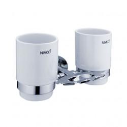 NIMCO Unix držiak na zubné kefky a 2 poháre UN13057DK26