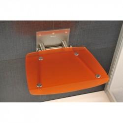 RAVAK OVO-B-ORANGE sedátko do sprchy sklopné farba oranžová