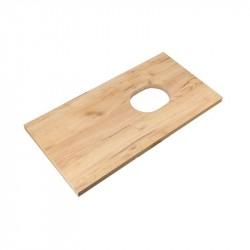 KFA INFINITUM doska na umývadlovú skrinku 80 x 43 x2,8 cm dub lamino, 1695220083