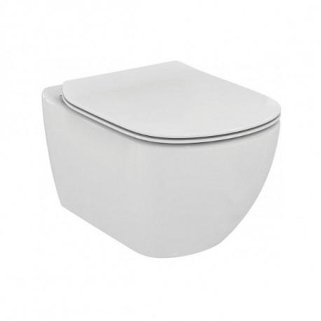 Ideal Standard Tesi závesné WC so sedadlom SoftClose, AquaBlade, biela T354601