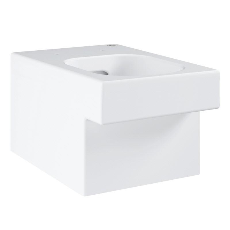 GROHE Cube Ceramic závesná WC misa Rimless, Triple Vortex, PureGuard 3924400H