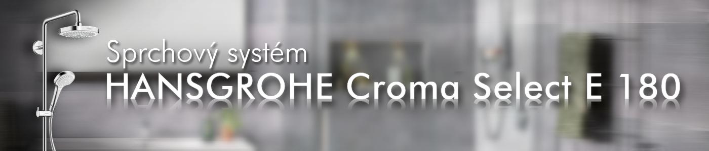 HANSGROHE CROMA SELECT E 180